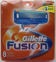 Лезвия Gillette Fusion, 8 Count Cartridge , фото 1