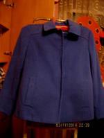 Пальто полупальто куртка  50 16 L женское синее