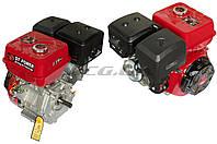 Двигатель для мотоблока с двигателем   188F   (13 Hp)   (полный комплект)    (вал Ø 25мм,  под шпонку)