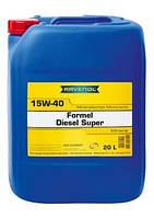 Масло моторное Ravenol Formel DIESEL Super 15W-40 20л