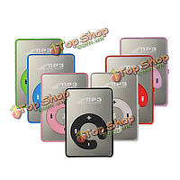 Мини MP3-плеер поддержка 8GB TF карта с наушниками
