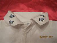 На 6-9 месяцев кофта белая рубаха шведка поло шик