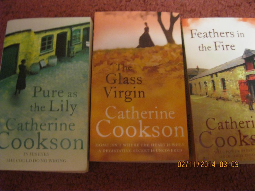 Книга CATHERINE COOKSON АНГЛИЙСКИЙ  роман набор = 3 книги