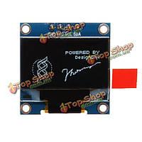 0.96-дюймов 4-контактный белый с I2C мск О'LED дисплей 12864 модуль LED для Arduino