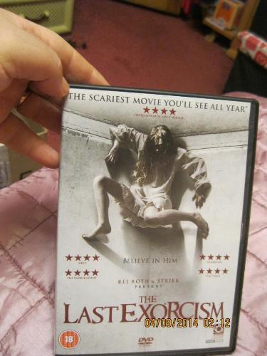 Диск британия лицензия на английском ужасы last exorcism