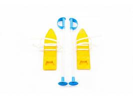 Лыжи детские с палками Marmat, длинна 40 см. (ВВ)