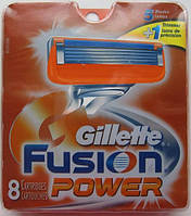 Лезвия Gillette Fusion Power, 8 Count Cartridge , фото 1