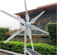 Высокая эффективность 300W ветряк-генератор переменного тока/постоянного тока 12В/24В 6 лезвий