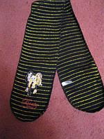 Шарф и перчатки набор на девочку bratz черный
