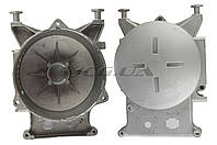 """Крышка (левая) статора для бензогенератора   ET-950   """"JIANTAI""""   (с подшипником 6204)"""