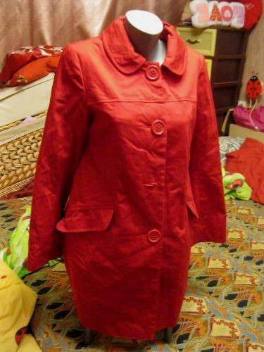 ПЛАЩ пальто женское красный М 12 46 СТИЛЬНЫЙ DOROTHY PERKINS - SOLARIS2013  в Днепре a493ac63caf