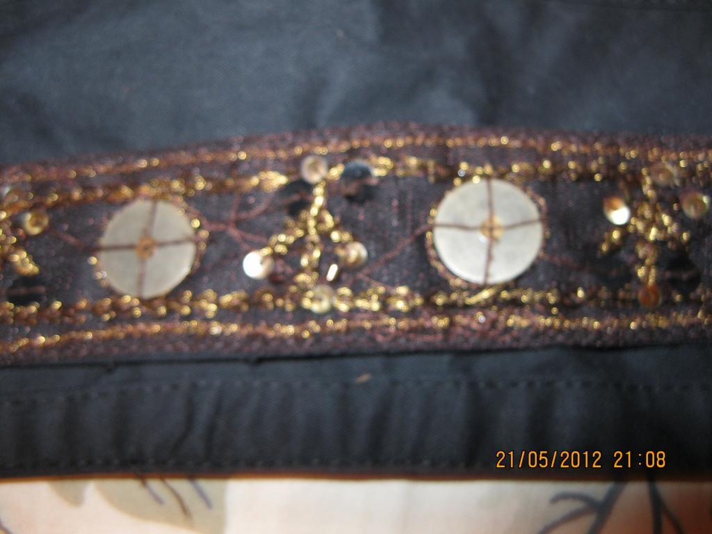 Пояс ремень ИНДИЯ вышивка.двойной hand-made