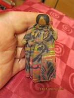 КУКЛА 7.5СМ сувенир статуэтка фигурка ДЕРЕВО КУПИЛИ НА ГАВАЯХ