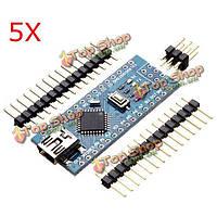 5шт схема atmega328p нано В3 плате контроллера для Arduino улучшенная версия