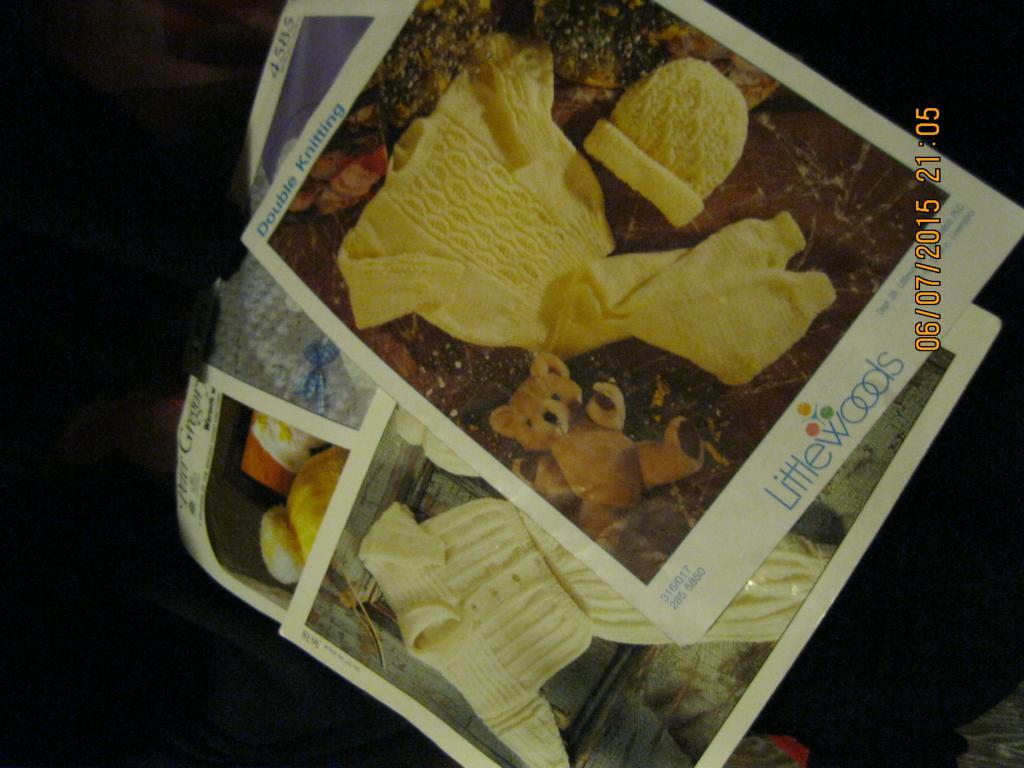 Брошюры вязание БРИТАНИЯ АНГЛИЙСКИЙ ЯЗЫК ЛОТ=ВСЕ буклеты детская одежда