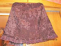 Юбка женская как новая шоколадная М 48 12-14, фото 1