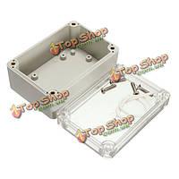 Электронный пластиковый бокс водонепроницаемый электрическая распределительная случае 100x68x50mm