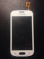 Тачскрин для Samsung S7390 Galaxy Trend, белый