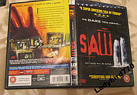 Ужасы фильм лицензия диск Пила на английском языке