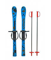 Лыжи детские с палками Marmat, длинна 90 см. (ВВ)
