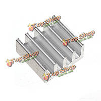 11*11*5мм алюминиевый теплоотвод для памяти IC обломока h26