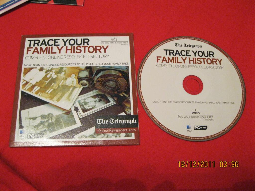 Книга английский язык диск trace your family history