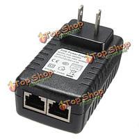 48v 0.5a питания PoE инжектор Over Ethernet адаптер для беспроводного доступа