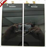 LCD Lenovo K900 + touchscreen (black)