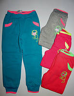 Спортивные брюки с начесом для девочек Sincere 116-122рр