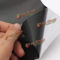Черное стекло пленка самоклеящаяся липкая пластиковая виниловая пленка 45x100cm