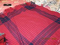 ПЛАТОК палантин ШЕРСТЬ шаль с КИПРА 1м на 1м шик