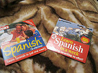 Диск 2 диска испанский-английский Spanish English обучающие английский