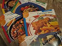 Набор открытки английский кулинария рецепты пища