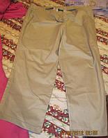 Брюки штаны женские бежевые 54 XL новые хлопок MIA LINEA отличное качкство