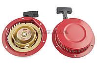 Стартер ручной (в сборе) для мотоблока, бензогенератора   168F/170F   (6,5/7Hp, D-150mm)    (металлический)