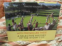 Книга  альбом MARTIN VOUSDEN спорт гольф на английском языке английский