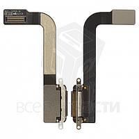 Шлейф для планшета Apple iPad 3, коннектора зарядк