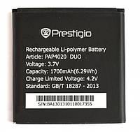 Аккумулятор на Prestigio PAP4020/PAP3500, 1700mAh,
