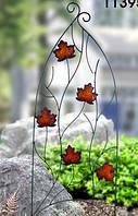"Декоративная опора для растений ""Листья"""