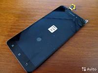 Дисплей для Lenovo S60 + touchscreen, чёрный