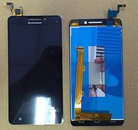 Дисплей для Lenovo A5000 + touchscreen, чёрный
