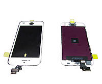 Дисплей iPhone 5S/SE + Touchscreen, белый,хай копи