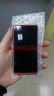 Дисплей HTC 600 Desire Dual + touchscreen, RED