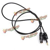 Toslink мужчин и 3.5мм мужской цифровой оптический аудио адаптер свинца кабеля