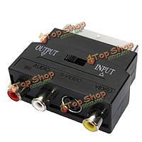 ТВ DVD аудио видео граббер палку оцифровки кабель адаптер SCART