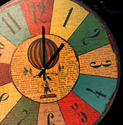 Круглі годинник, 36 см