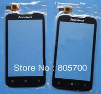 Сенсорный экран телефона Lenovo A369i черный
