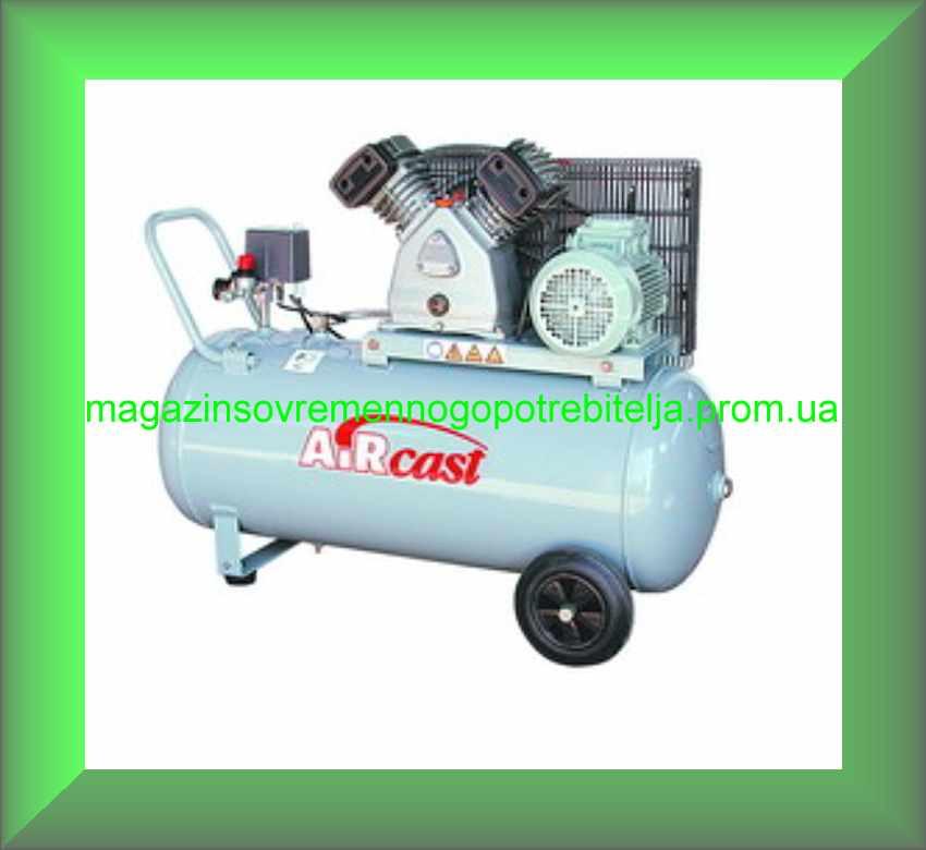 Компрессоры поршневые AIRCAST CБ4/С-100.LB24(A) с ременным приводом