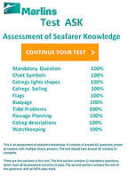ASK Test ( Assessment of Seafarer Knowledge) все вопросы и ответы.