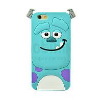 Силиконовый чехол Disney iPhone 6 Monster Sullivan Green